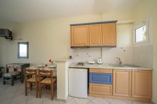 accommodation milos studios big kitchen