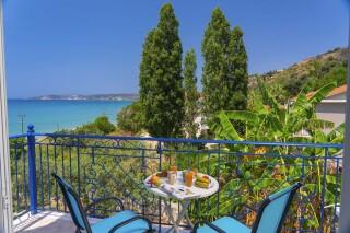 accommodation milos studios sea and village view