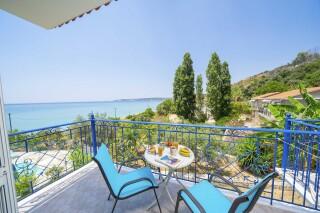 accommodation milos studios sea view balcony