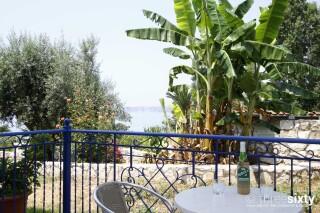 accommodation milos studios veranda view