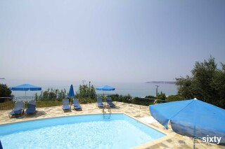 facilities milos studios sea view pool